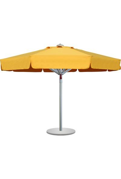 Bahçe Şemsiyesi Polyester Kumaş Maksi Sunminyum 250/8