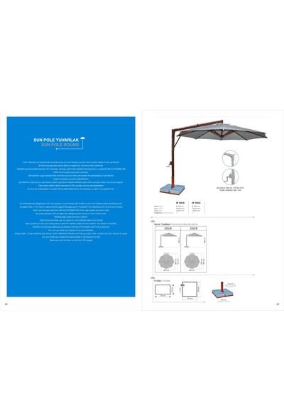 Bahçe Şemsiyesi Sun Pole 300/8
