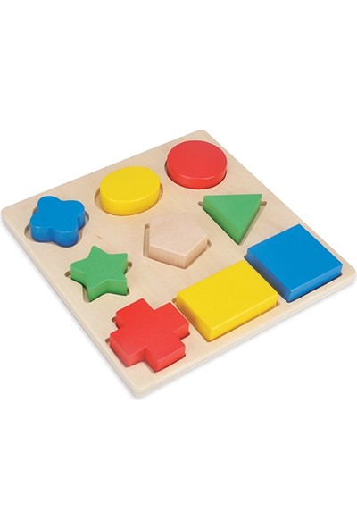 Akay Geometrik Şekiller Bul Tak Oyunu