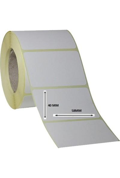 Pro Terazi Etiketi 40X58 500 Sarımlı Termal 10 Lu Paket