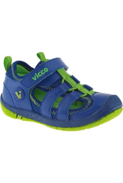 Vicco 332.Z.336 Erkek Çocuk Mavi Sandalet