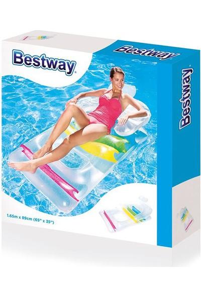 Bestway Şişme Deniz Yatağı Sırt Destekli 43011