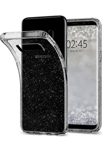 Spigen Samsung Galaxy S8 Kılıf Liquid Crystal Glitter Space Quartz - 565CS21616