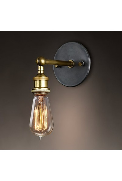 Edison Flemanlı Dekoratif Rustik Ampul St64 Model