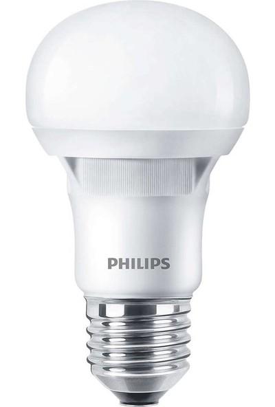 Philips Essential 6W Led Ampul (Bulb) Sarı Gün Işığı (3000K)