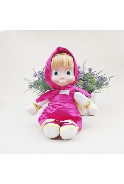 Kılıfkapakdünyası Maşa ve Koca Ayı Oyuncak Bebek 29 cm