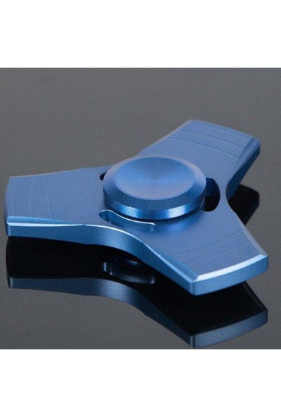 Ünvanli Hediyelik Üçgen Bronz Metal Stres Çarkı (Hand Spinner) - Orjinal