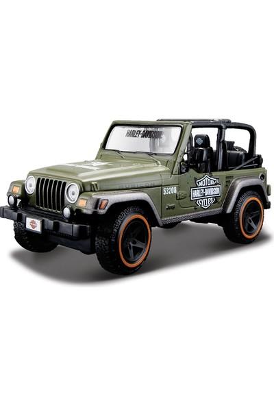 Maisto 1:27 Jeep Wrangler Rubicon