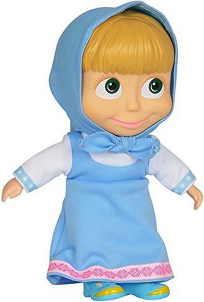 Sunman Masha Bebek Mavi Elbiseli 23 cm