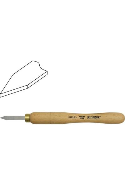 Narex 818303 Hss Mini Ahşap Torna Bıçağı Ayırma Ağız 8X50 Mm