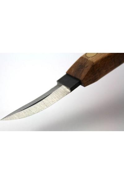 Narex 822540 Profi Ahşap Yontma Bıçağı Bükülmüş Carving Knife 40X12 Mm