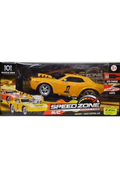 Muscle King Uzaktan Kumandalı Şarjlı Spor Araba 2.4 Ghz
