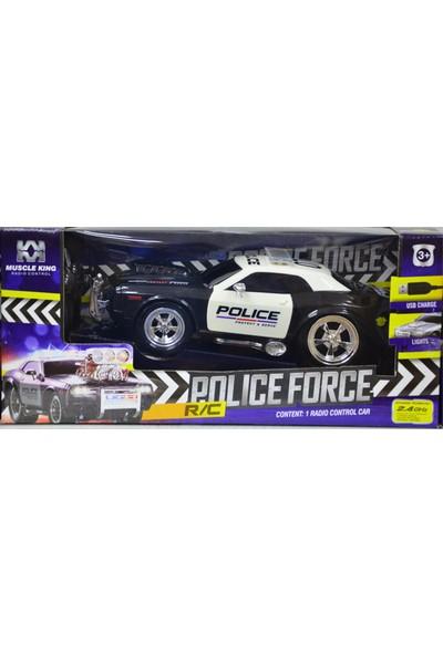 Muscle Kinguzaktan Kumandalı Polis Arabası 2.4 Ghz