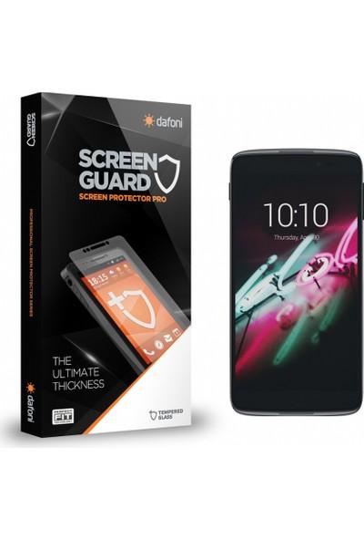 Dafoni Alcatel OneTouch idol 3 4.7 Tempered Glass Premium Cam Ekran Koruyucu