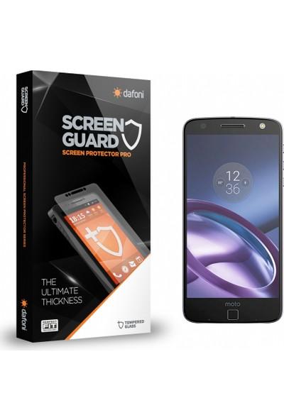 Dafoni Motorola Moto Z Tempered Glass Premium Cam Ekran Koruyucu