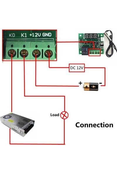 Robotekno Dijital Termostat 12v Akvaryum Kuluçka Buzdolabı Termostatı