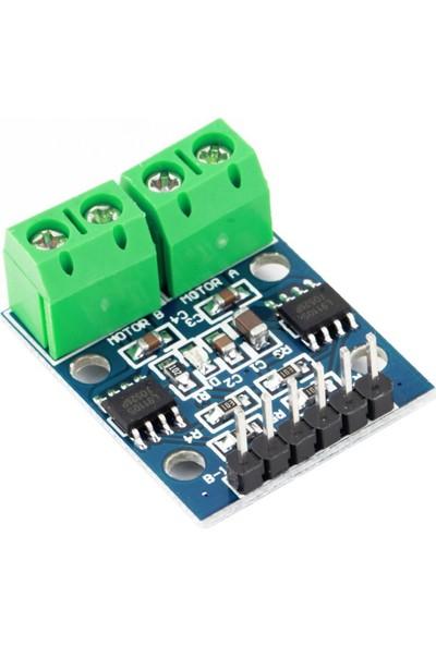 Robotekno Arduino Step Motor Sürücü L9110S Çift Kanal DC Motor Sürücü H-Bridge