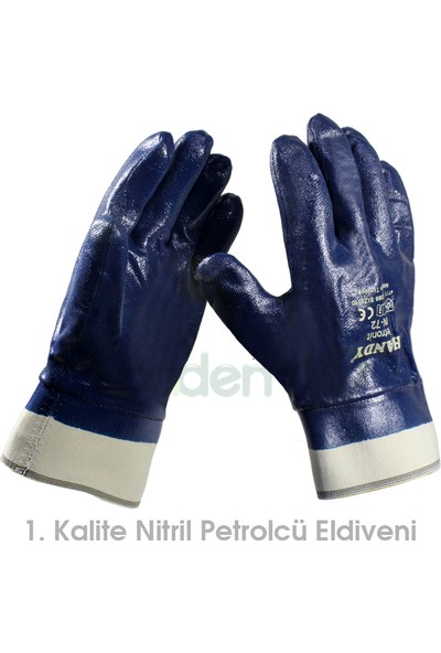Handy Handy 1. Kalite Nitril Petrolcü Eldiveni