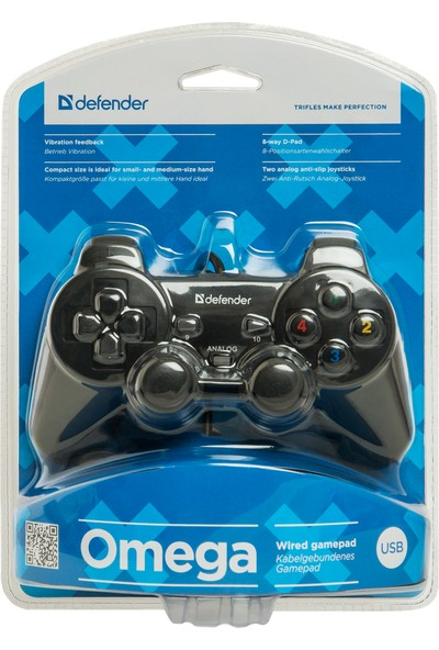 Defender Wired Gamepad Omega - 64247