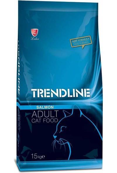 Trendline Somon Balıklı Yetişkin Kedi Maması 15 Kg