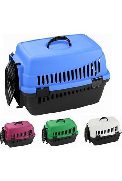 Pet Carrier Kedi Köpek Plastik Taşima Çantasi 49 Cm