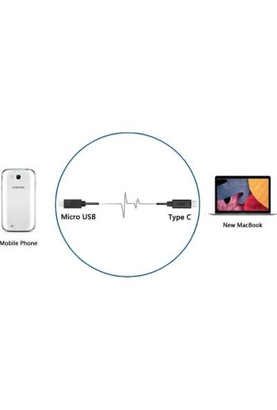 Unitek Unitek Usb 2.0 Type C (Usb-C) Micro Usb Şarj Ve Veri Senkronizasyon Kablosu