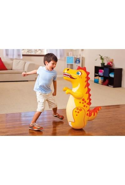 Intex 3D Bop Bag Inflatable Punching Boxing Bag Dinosaur / Su Doldurma Tabanlı Şişme Dinazor Hacıyatmaz 94 Cm