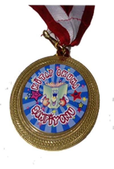 Beyazyıldızlar Madalya 10 Adet (Kitap Okuma Şampiyonu)