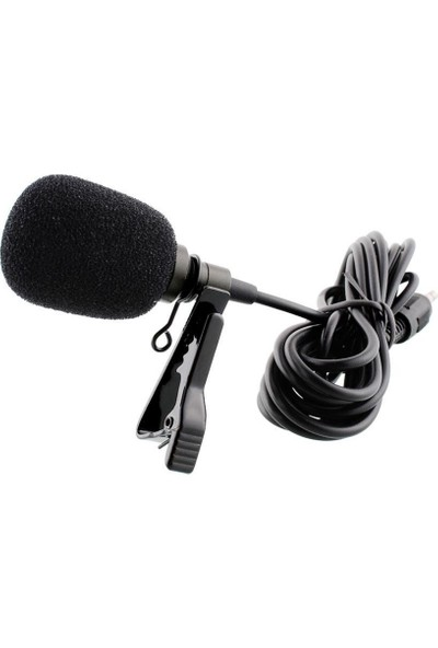 Sekujen Cep Telefonu Uyumlu Yaka Mikrofonu