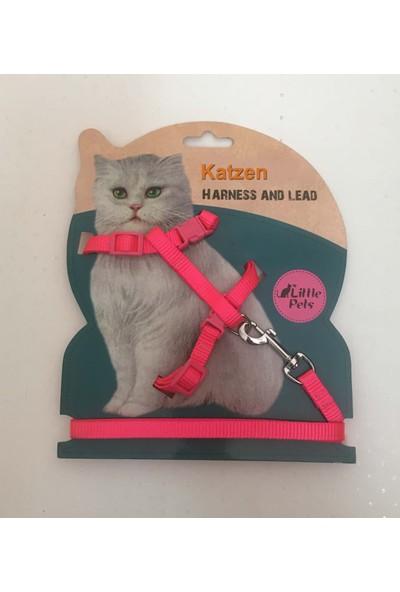 Katzen Kedi Göğüs Tasması Pembe