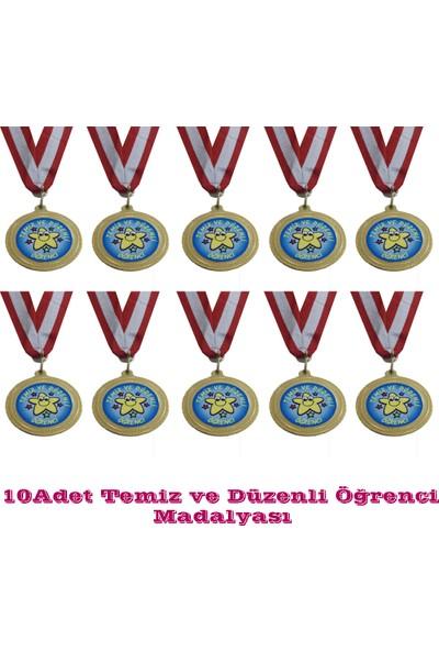 Beyazyıldızlar Madalya 10 Adet (Temiz Ve Düzenli Öğrenci)