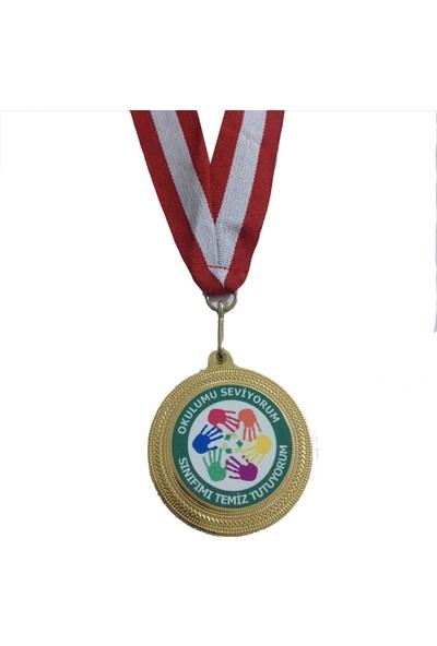 Beyazyıldızlar Madalya 10 Adet (Sınıfımı Temiz Tutuyorum)