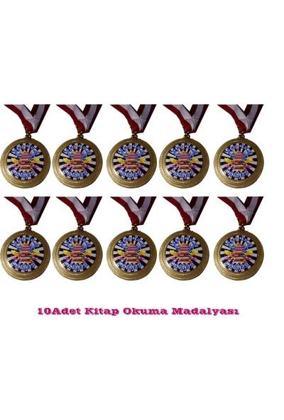 Beyazyıldızlar Madalya 10 Adet (Kitap Okuma Madalyası)