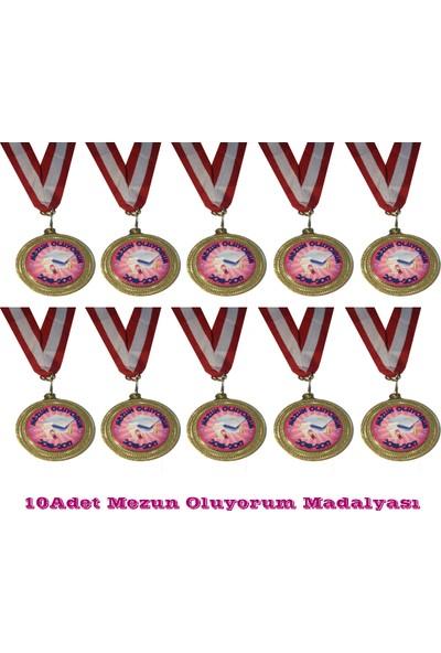 Beyazyıldızlar Madalya 10 Adet (Mezun Oluyorum)