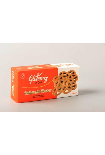 Glutensizada Glutensiz Baharatlı Tuzlu Kraker