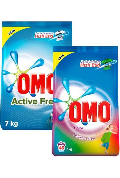 Omo Matik 7 Kg Color + Active Fresh