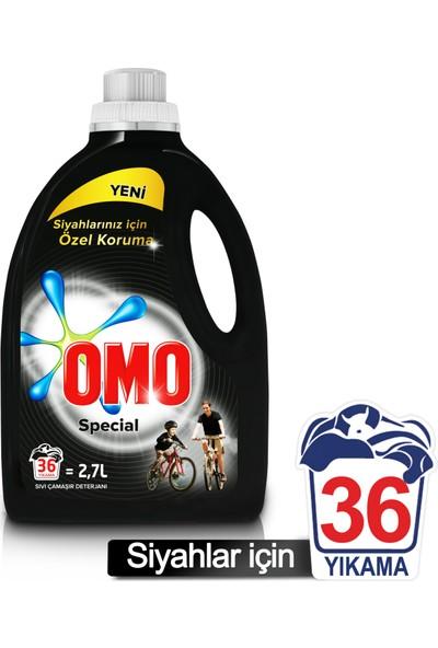 Omo Special Black Siyah Çamaşırlara Özel Sıvı Çamaşır Deterjanı 2.7l
