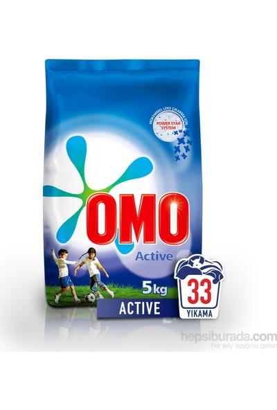 Omo Matik Toz Deterjan Active 5 kg 33 Yıkama