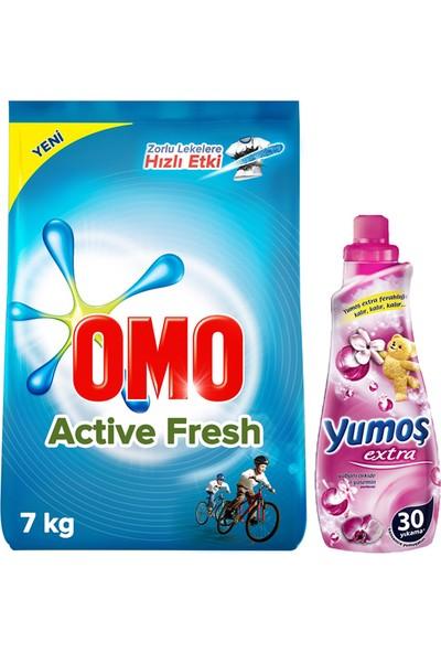 Omo Active Fresh 7 Kg + Yumoş 720 Ml Yabani Orkide Yasemin