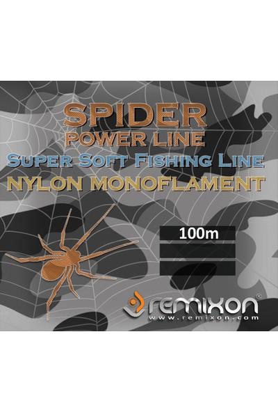 Remixon Spider Serisi 100m Poşet Monofilament Misina