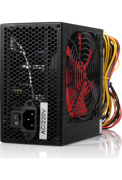 Dark Force Serisi 500W 3xSATA, 3xIDE 6+2Pin PCI-E Power Supply (DKPS500S1)