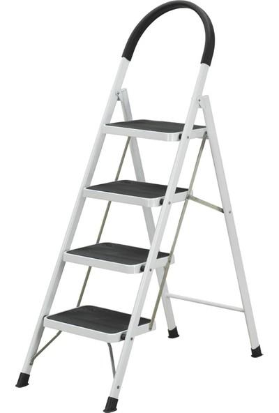Evin New Toros 4 Basamaklı Katlanır Lüks Merdiven
