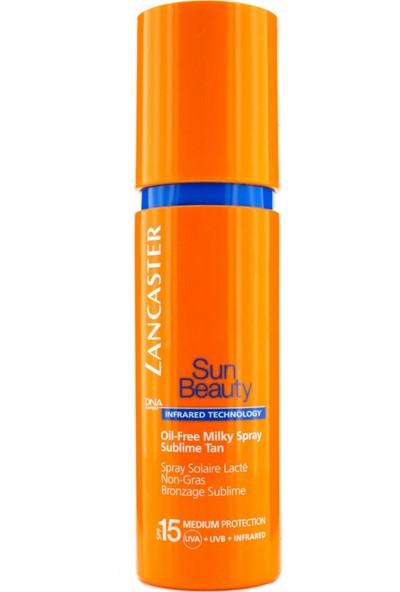 Lancaster Sun Beauty Oil Free Milky Spray Sublime Tan Spf 15 150 Ml