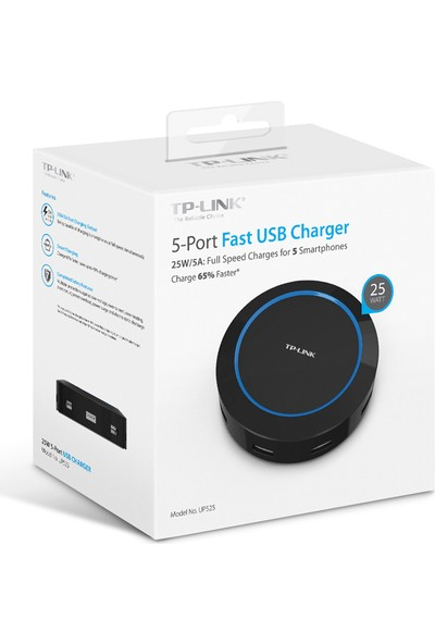TP-Link UP525 25W 5-Portlu USB Şarj Cihazı