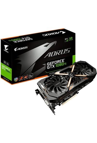Gigabyte Aorus GTX 1080 TI 11GB 352Bit GDDR5X PCI-E 3.0 Ekran Kartı GV-N108TAORUS-11GD