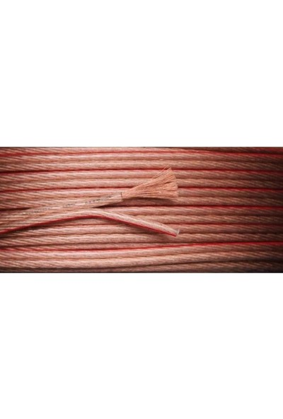 Emek Hoparlör Kablosu Şeffaf 2X1.5 Mm