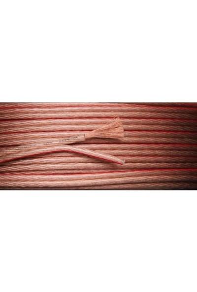 Emek Hoparlör Kablosu Şeffaf 2X2.5 Mm