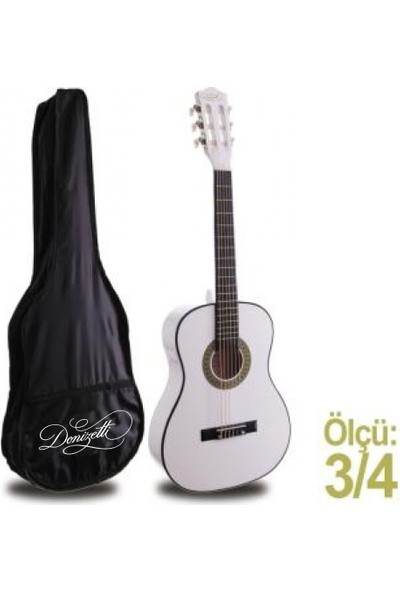 Klasik Gitar Junior MRC87WH (KILIF HEDİYE) Donizetti