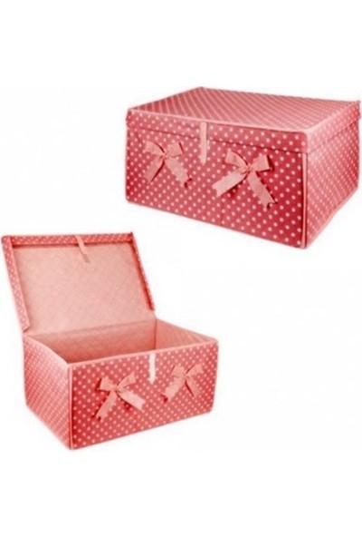 Çok Amaçlı Kapaklı Kutu -Kırmızı