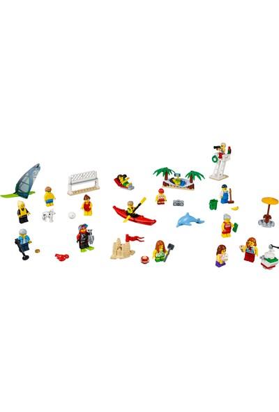 LEGO City 60153 İnsan Paketi - Plajda eğlence